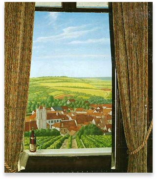 Art work d coration fa ades magasins en trompe l 39 oeil for Trompe l oeil interieur